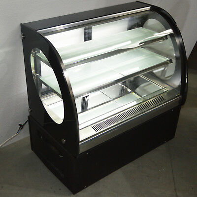 Used 220v Refrigerated Cake Showcase 36 Inch Glass Display Case