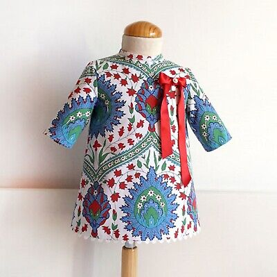 DIGITAL SEWING PATTERN A-LINE DRESS WITH SLEEVE Baby Girls spanish dress toddler Toddler Line Dress Pattern