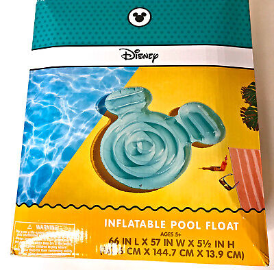 Mickey Mouse Inflatable Pool (Disney Mickey Mouse Icon Inflatable Pool Float, New!)