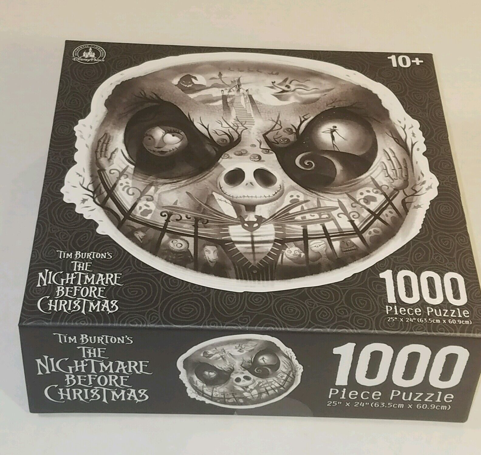 Jack Skellington Scary Face Nightmare Before Christmas Puzzle 1000 pc