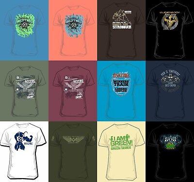 Scitec Nutrition Shirt Sportshirt Freizeitshirt Bekleidung - 20% Rabatt für 4 St