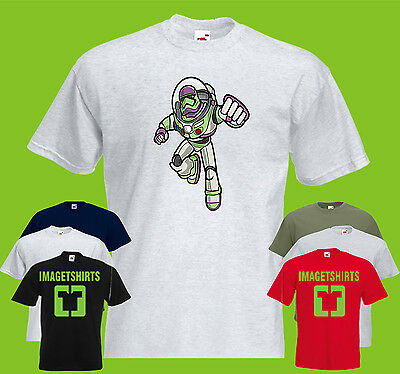 Buzz Trooper Mens PRINTED T-SHIRT Mashup Funny Movies Toy Story Star Wars