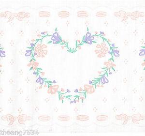 Heart-Wreath-Light-Pink-Floral-Flower-Ribbon-Baby-Nursery ...