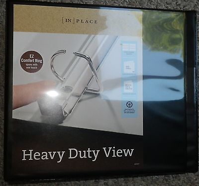 Inplace Extra-wide Heavy-duty View Binders With Ez Comfort D-ring 4