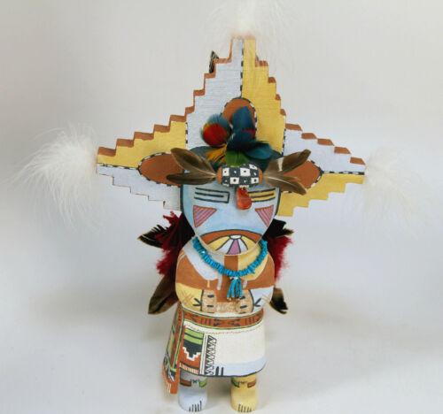 "Hopi Dew-Drinking Male Butterfly Kachina by Poleyestewa 13"""