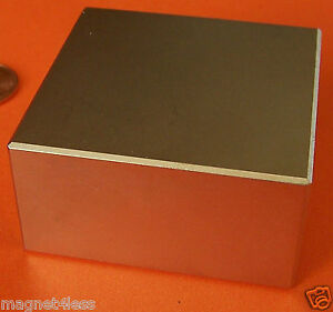 1 Grade N42 2x2x1 Rare Earth Block Magnet