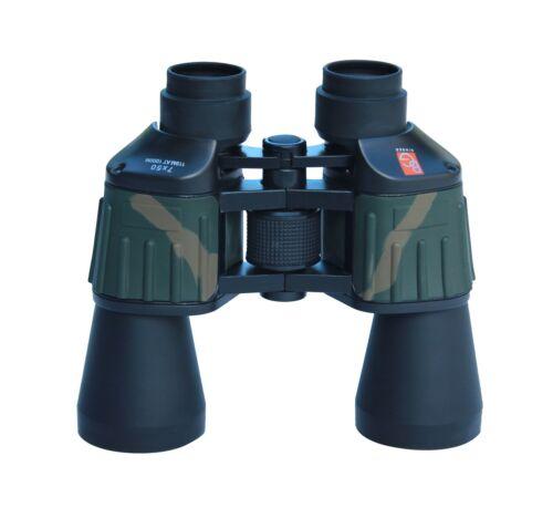 Binger CB750 7X50 binoculars porro prism wide angle  BK 7 prism fully coated