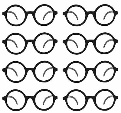 Eight 8 Daria Costume Glasses UV 400 Nerd Bookworm Round Eye Dress Up Halloween - Daria Costume