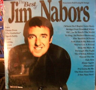 Jim Nabors The Best Of 1981 Lp Sealed