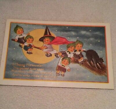 Happy Post Halloween (Vintage Halloween Post Card A Happy Halloween The Gayest Ever)