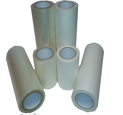 300mm Wide X 50m Roll Application Transfer Tape For Sticky Back Plastic Vinyl