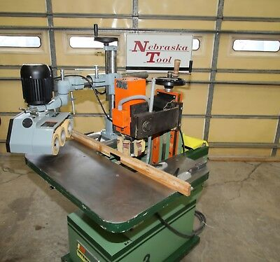 Interwood Rc-3 Profile Sander Delta 36-836 Power Feeder