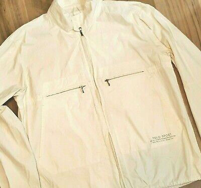 Vintage Ralph Lauren Polo Sport Deck Jacket Men Size L/Large Sailing Windbreaker