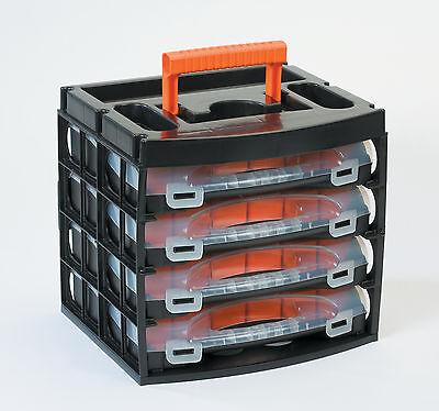 Sortimentskasten Sortimentskoffer  Sortierbox Angelbox Werkzeugkasten