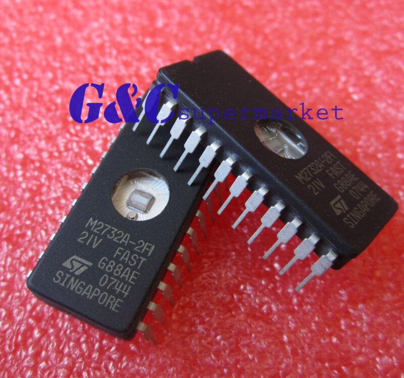 50PCS M2732A-2F1 M2732A EPROMs ST CDIP24 NEW