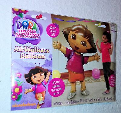 XXL Dora the Explorer  Air-Walkers Balloom Ballon 91 cm x 132 cm  Folienballon
