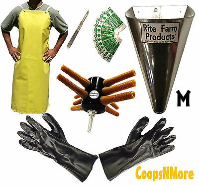 L10 Processing Kit Drill Plucker Medium Kill Cone 10 Blade Scalpel Apron Gloves