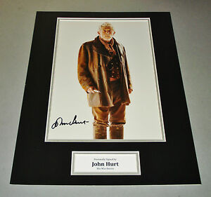 John-Hurt-Signed-Photo-16x12-Doctor-Dr-Who-Autograph-Memorabilia-Display-COA
