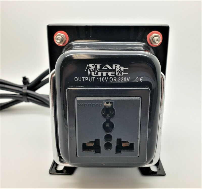 Starlite Step Up/Down AC Voltage Converter | WTG-500 W | 220v to 110v
