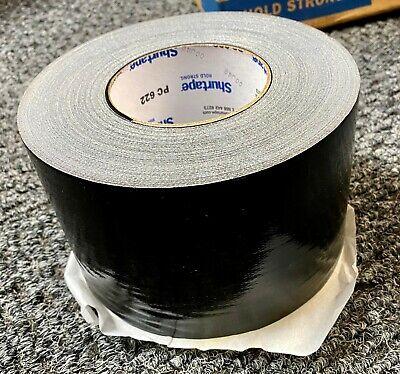 X1 Roll Shurtape Pc622 Black Premium Grade Cloth 4in X 60yd Duct Tape Freeship