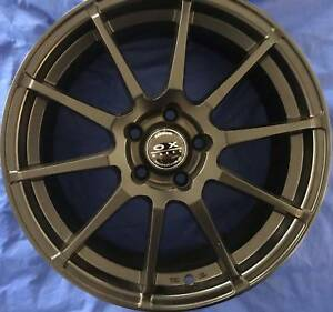 SET OF FOUR (4) OX WHEELS 17x7 5/108 et35 820 Tweed Heads South Tweed Heads Area Preview