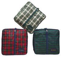 Acclaim Tiree Tartan Plain Pattern Rink Greensider Clothing Bowling Bag 15, X 5, - acclaim - ebay.co.uk