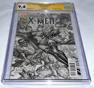 Uncanny X-Men #29 CGC SS Signature Autograph STAN LEE Sketch Death Cyclops Magik