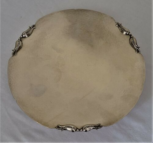 Carl Poul Peterson Sterling Silver Cake or Dessert Tray