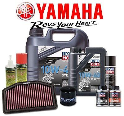<em>YAMAHA</em> R1 2009   2014 PERFORMANCE SERVICE PACK KIT ENGINE OIL  AIR