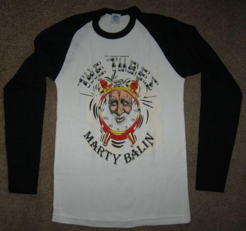 Vintage 1982 Bill Graham THE TUBES / MARTY BALIN Raglan Long Sleeve Shirt MEDIUM