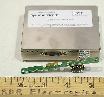 Symmetricom X72 Rubidium Oscillator 10-32V DC 10MHz w/ EFC