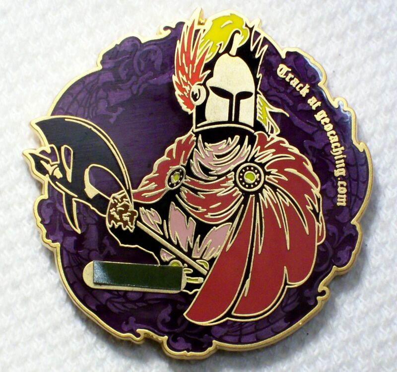 GCC Members Only - June 2011 Cache Knight & Pathtag - Geocoin Unactivated