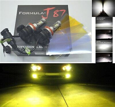 LED Kit X3 50W H11 3000K Yellow Two Bulbs Fog Light Replace Upgrade Lamp OE Fit
