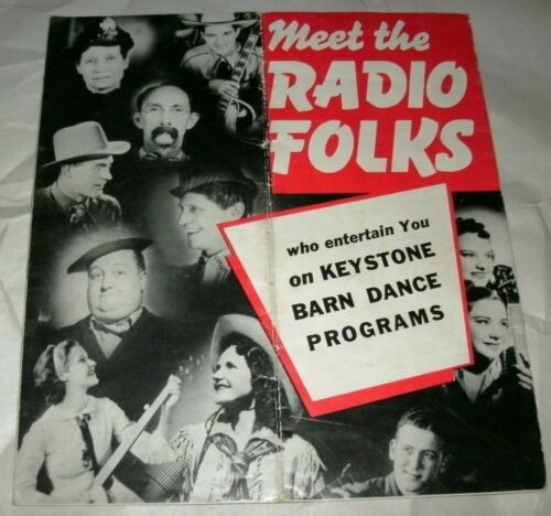 Meet The Radio Folks 1930