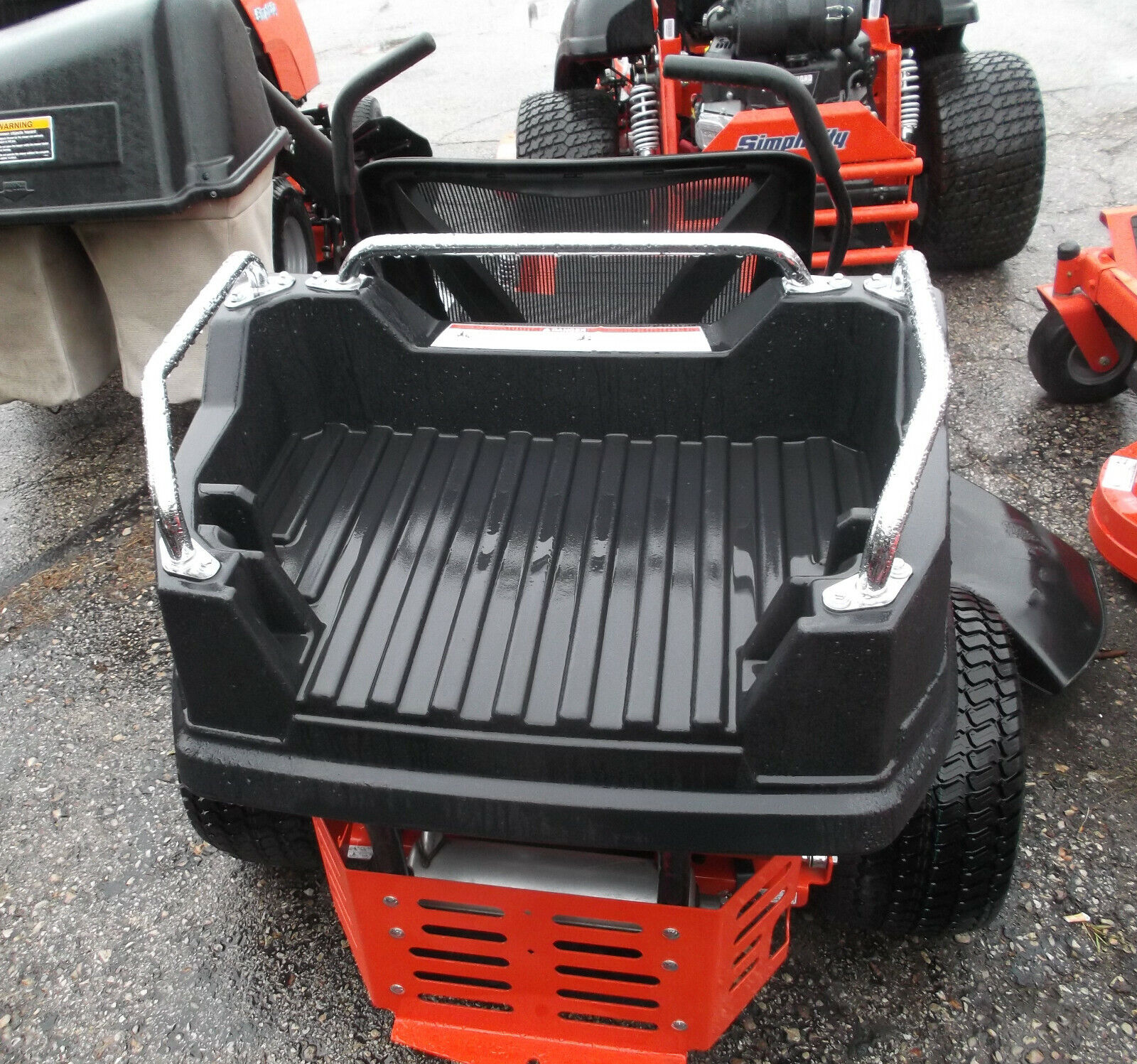SIMPLICITY SNAPPER REAR CARGO CARRIER BED COURIER ZERO TURN