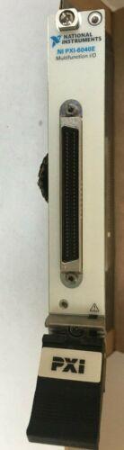 National Instruments NI PXI-6040E DAQ 500kS/s