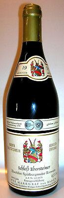 1978 Schloß Ebersteiner Eberblut Spätburgunder Rotwein