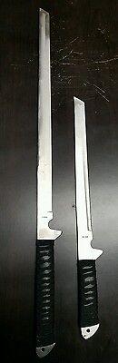 Twin ninja set -two swords stainless steel -