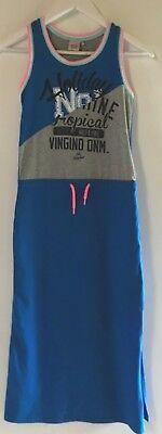 Neuwertiges Trägerkleid von Vingino Jeans für Mädchen
