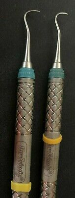 Hu-friedy Sh679 Everedge Double End Hygienist Sickle Scaler-lot Of 2