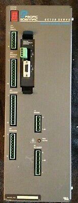 Pacific Scientific Sc723a001 Servo Controller Used
