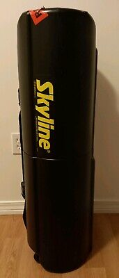 Skyline Mirage Pop-up Display 10 Frame With Two Lights And Rolling Case
