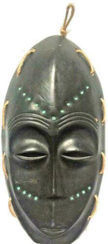 """Vintage African Clay Mask 5 1/2"""" X 11"""""""