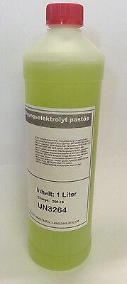Beizgerät  Edelstahl extra Pastös Elektrolyt für Carbonpinsel 1L Fides Maschinen