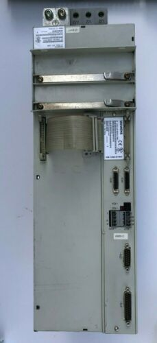 Siemens Simodrive Lt Modul, Ext.160a, 6sn1124-1aa00-0ea1 With 6sn1118-0dg21-0aa1