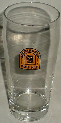 (BEER DRINKING GLASS TALL WHEAT WEIZENBIER STYLE BODDINTON PUB ALE)