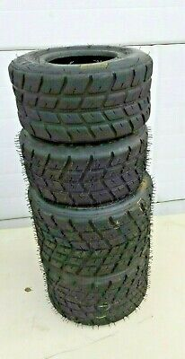 W2  rain tires  3 new and 1 used to create a set Use the worn tire inside front