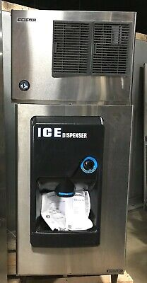 Hoshizaki Commercial Ice Dispenser Db-200h Modular Crescent Cuber Kml-151mah