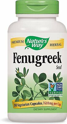 Nature's Way Fenugreek Seed 610 mg, Capsules 180ea