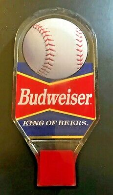 Budweiser Beer Tap Handle Baseball Acrylic